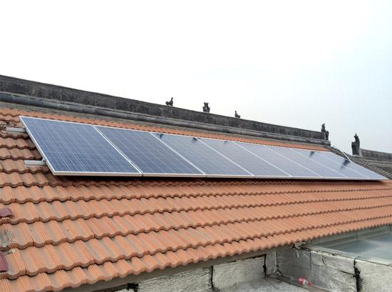 屋顶太阳能光伏发电并网系统-并网系统 - 徐州大金